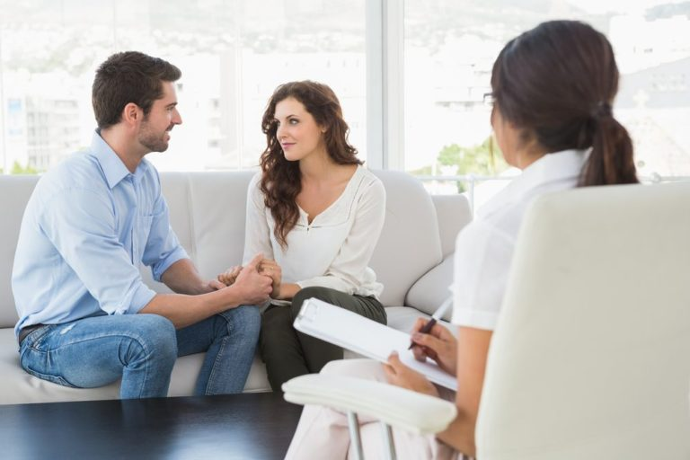 Couple in Marriage Therapy